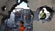 Israelische Lufwaffe bombardiert Gaza