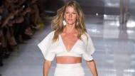 Gisele Bündchen bringt Glamour auf die Modewoche