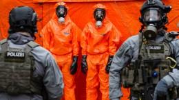 Berliner Polizei probt den Ernstfall