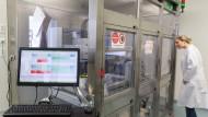 Innovativ: Blick in ein Labor der Mainzer Biontech