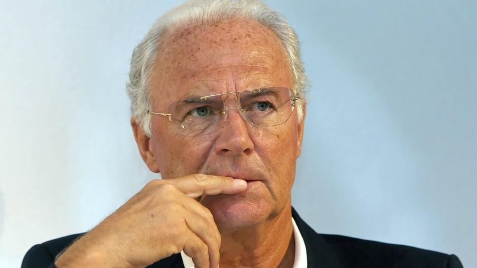 """Franz Beckenbauer: """" Ich habe ein reines Gewissen."""""""