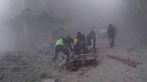 Assad-Regierung droht mit Blockade