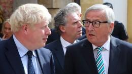 So reagiert Brüssel auf Johnsons Vorschläge