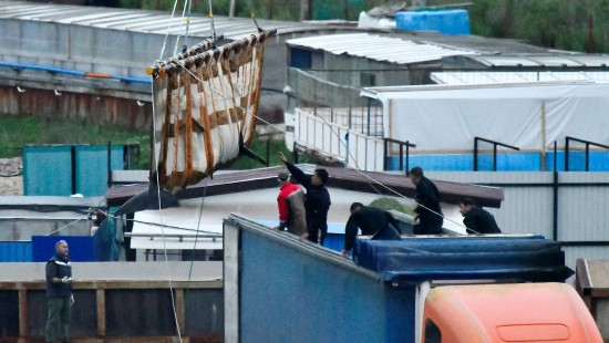 Russland lässt Wale frei