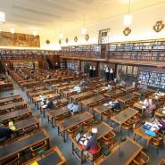 Leere Bibliotheken: Seit den neuen Corona-Beschränkungen verzeichnen die Bibliotheken einen starken Rückgang an Besuchern.