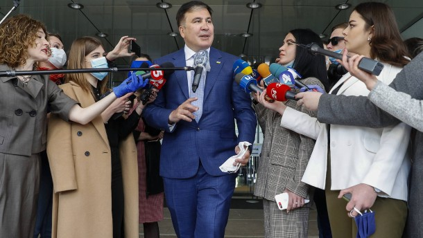 Saakaschwilis nächste politische Wiederauferstehung