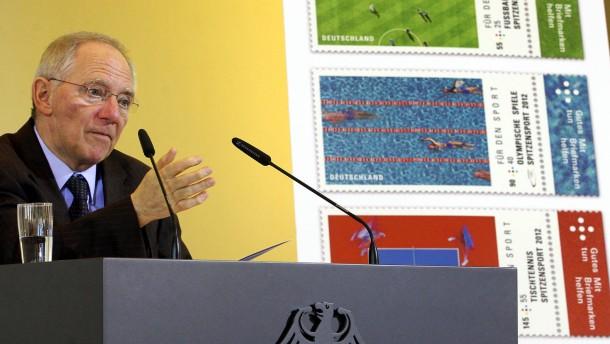 Neue Sportbriefmarken 2012 vorgestellt