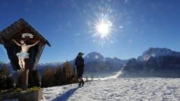 Auf Schnee und Kälte folgt ein Novembersommer