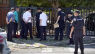 Explosion vor amerikanischer Botschaft in Peking
