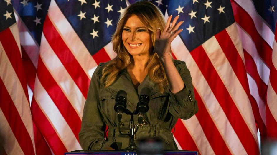 Melania verteidigt exzessives Twitter-Verhalten Trumps