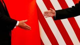 Vereinigte Staaten und China einigen sich auf Teilabkommen