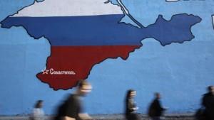39 Prozent für Anerkennung der Krim-Annexion