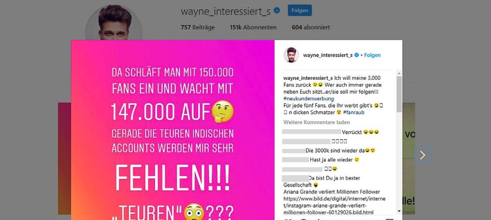Warum Plötzlich Tausende Follower Auf Instagram Weg Waren