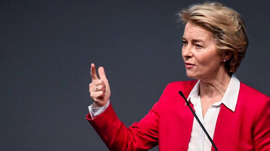 Stemmt sich gegen London: EU-Kommissionspräsidentin Ursula von der Leyen