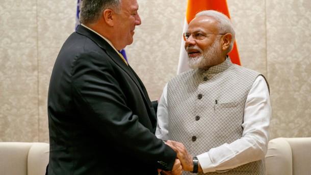 Amerika und Indien verbünden sich