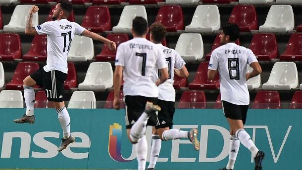Titelreife Leistung der deutschen U 21