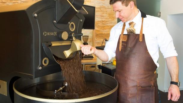 Kaffee als  Kunstform