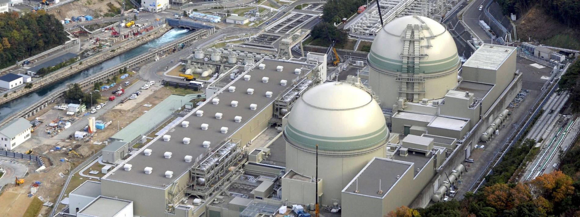 Japan schaltet zwei Atomreaktoren an