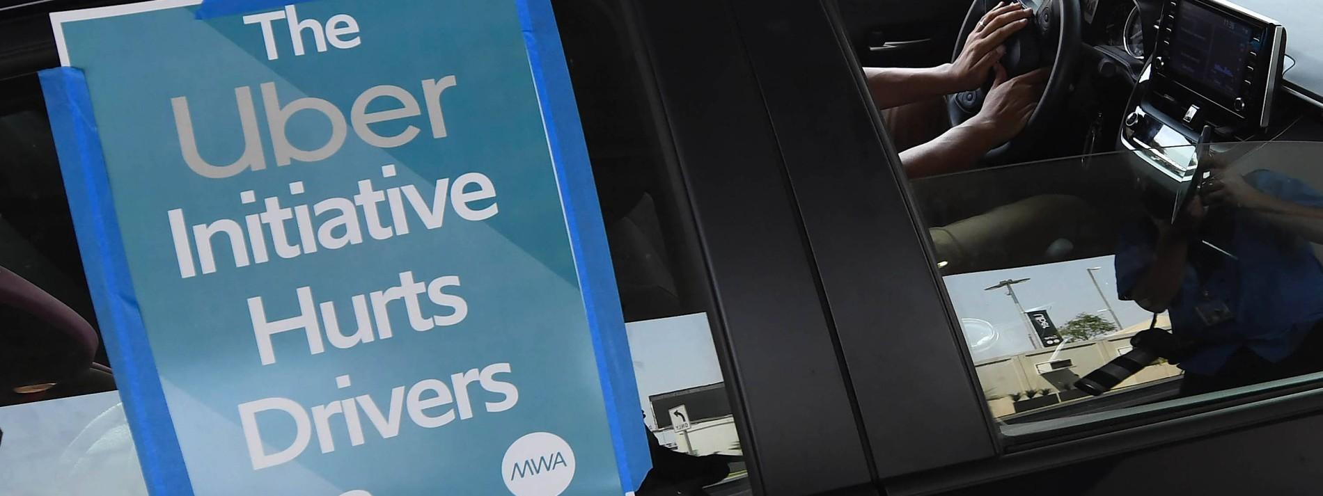 Kalifornier stimmen gegen Gesetz für Uber-Fahrer