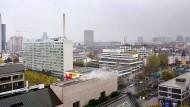 Große Pläne für ein großes Gelände: Ideen und Möglichkeiten für die Nutzung des früheren Campus der Goethe-Universität in Bockenheim gibt es viele.