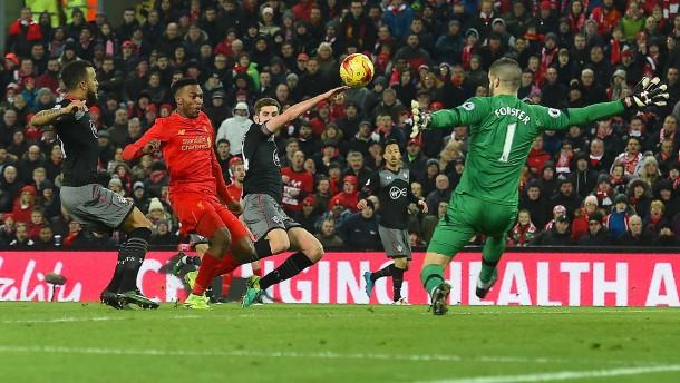 Liverpool scheitert abermals an Southampton