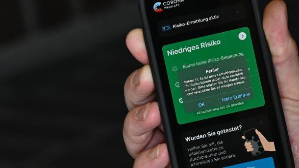 Der Staat behindert die Corona-App