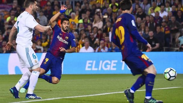 Real Madrid trotz langer Überzahl nur 2:2 beim FC Barcelona
