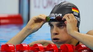 Dem deutschen Schwimmsport droht der endgültige Absturz