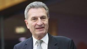Oettinger rechnet mit erheblichen Mehrkosten für Deutschland