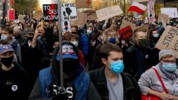 Proteste gegen Abtreibungsverbot halten an