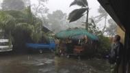 Schwere Schäden durch Taifun
