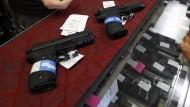 Waffen werden an texanischen Hochschulen wohl bald zum Alltag gehören.