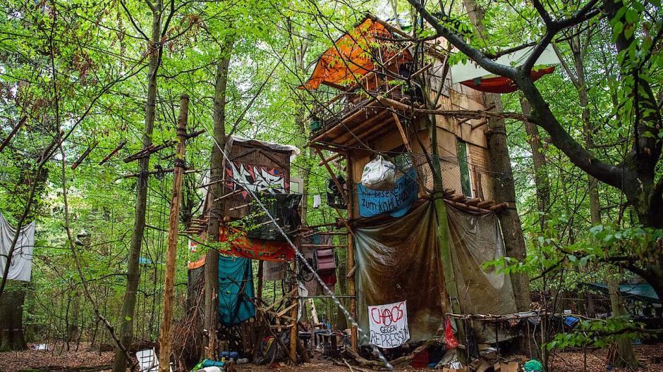 Umweltaktivismus: Baumhäuser im Hambacher Forst