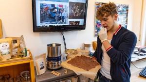 Die Nougat-Steinpilz-Schokolade