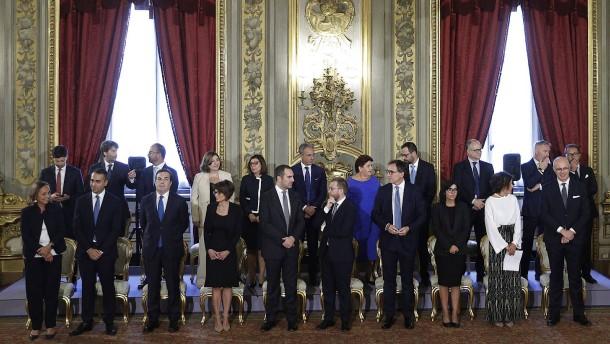 Das sind die Prüfsteine für Italiens neue Regierung