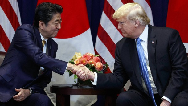 Japan kapituliert in der Handelspolitik