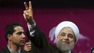 Amtsinhaber Rohani gewinnt Präsidentenwahl im Iran