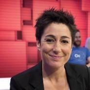 "Dunja Hayali moderiert den ""Donnerstalk"" im ZDF"