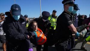 "London geht gegen ""Öko-Krieger"" vor"
