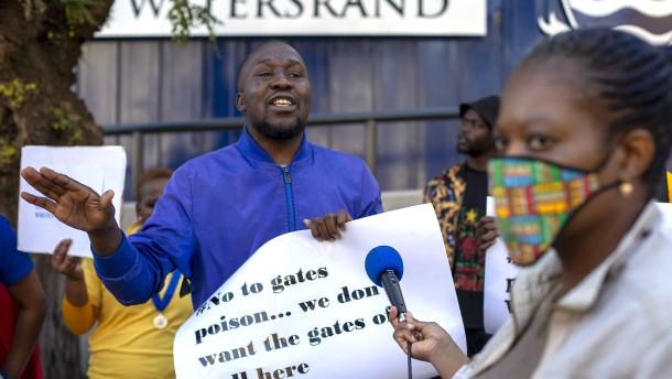 Südafrika meldet neuen Tagesrekord bei Infektionen