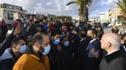 Tunesiens Jugend protestiert ohne politisches Ziel