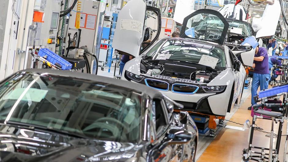 BMW-Werk in Leipzig