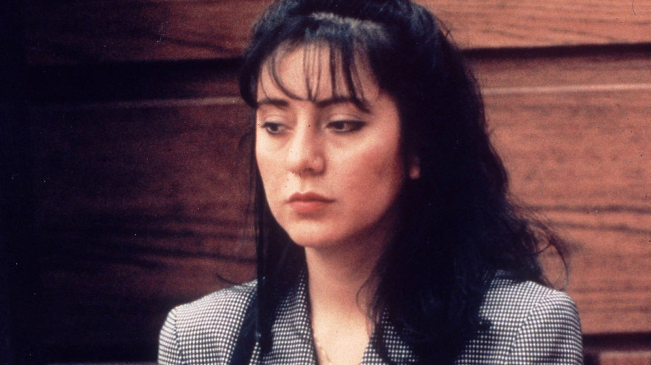 Lorena Bobbitt 1993 im Gerichtssaal.