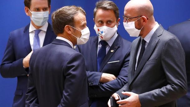 EU-Spitzen unterbrechen Verhandlungen bis zum Nachmittag