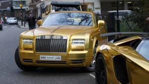 Der goldige Saudi-Prinz