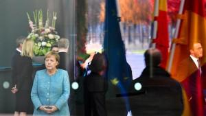 Merkels Wagnis hat begonnen