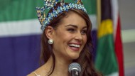 Südafrika feiert Miss World Rolene Strauss