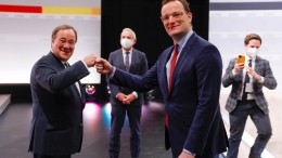 """Spahn: """"Armin Laschet ist der natürliche Kanzlerkandidat"""""""