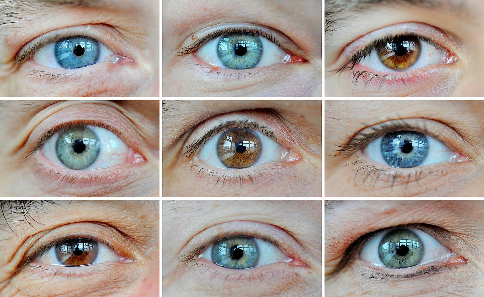 20 Gene für Augenfarbe entdeckt