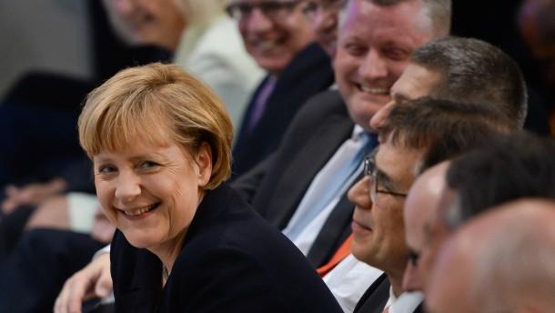Merkels Neuvermessung des Glücks